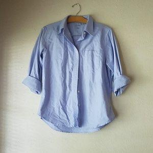 L.L Bean oxford button down cotton shirt